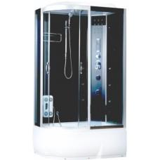 Душевая кабина Водный мир BM-8801 правая Размер:110x80 тонированные стекла