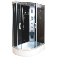 Душевая кабина Водный мир ВМ-8814 R Размер:120x80 правая тонированные стекла
