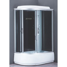 Душевая кабина Loranto CS-66120R G 120x80x215 см тонированное стекло