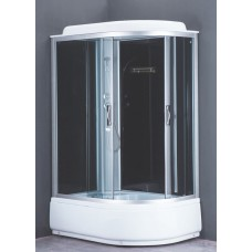 Душевая кабина Loranto CS-66120L G 120x80x215 см тонированное стекло