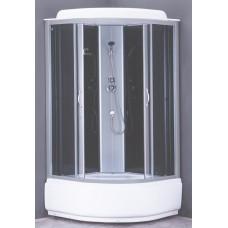 Душевая кабина Loranto CS-6610 G 100x100x215 см тонированное стекло