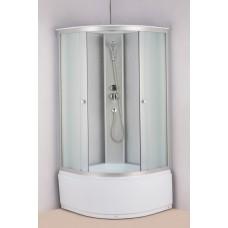 Душевая кабина Водный мир ВМ-820 Размер:100x100x215 см матовые стекла