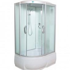 Душевая кабина Водный мир ВМ-8803 Размер:110x80x215 см правая матовые стекла