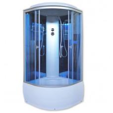 Душевая кабина Aquacubic 3302D blue mirror 90x90x220 см синие стекла