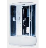 Душевая кабина Aquapulse 3106А L, Размер: 120*80*220 grey black