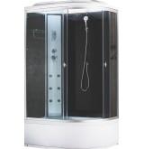 Душевая кабина Aquapulse 3106B L, Размер: 120*80*220 grey black