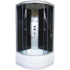 Душевая кабина Aquapulse 4202D grey black 90x90x220 см тонированные стекла