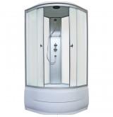 Душевая кабина Aquapulse 4202D fabric white 90x90x220 см матовые стекла