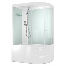 Душевая кабина Domani-Spa Light 128 high White Размер: 120*85*218(см)