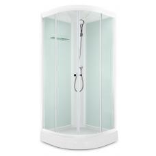 Душевая кабина Domani-Spa Light 99 White Размер: 90*90*218(см)