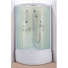 Душевая кабина Водный мир ВМ-3004 Размер:100x100 матовая