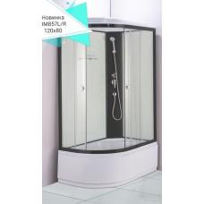 Душевая кабина Водный мир ВМ-857 Размер:120x80 правая