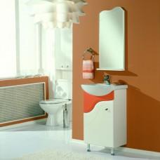 Комплект мебели Акватон Колибри 45 рыжий, матовый