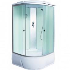 Душевая кабина Aquacubic 3102D fabric white 90x90x220 см матовые стекла