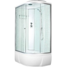 Душевая кабина Aquacubic 3106D L square white 120x80x220 см