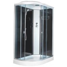 Душевая кабина Aquacubic 3126D R grey black 120x80x220 см тонированные стекла