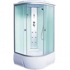 Душевая кабина Aquacubic 3103B fabric white 100x100x220 см матовые стекла