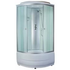 Душевая кабина Aquapulse 4103D 100x100x220 см fabric white
