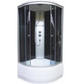 Душевая кабина Aquapulse 4002D 90x90x220 см grey black