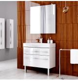 Aqwella Комплект мебели Milan 100 на ножках