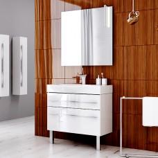 Aqwella Комплект мебели Milan 80 на ножках