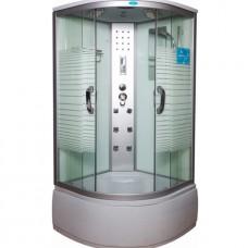 Душевая кабина Водный мир ВМ-8808 Размер: 90x90 полосатые