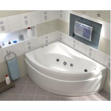 BAS Акриловая ванна VEKTRA (Вектра)   левая 1500 х 900