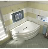 BAS Акриловая ванна ALEGRA (Алегра) правая 1500 х 900