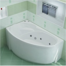 BAS Акриловая ванна FANTASY (Фэнтази)  левая 1500 х 950