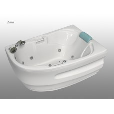Акриловая  ванна BellRado ДЕНИ  (DENI), левая  1495 х 995