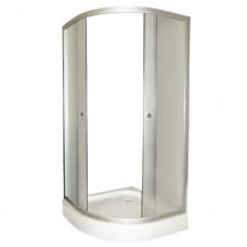 Душевой уголок FARO 8031 с низким поддоном, стекло крезет 900*900*2000