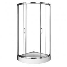 Душевой уголок COMFORTY В-07А прозрачное стекло, 900*900*1850