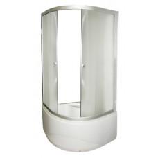 Душевой уголок FARO 8030 с высоким поддоном , стекло крезет 900*900*1950