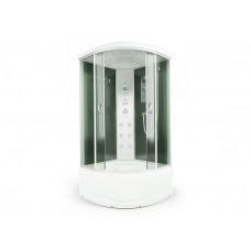 Душевая кабина Erlit ER4510TP-C4-RUS размеры 100x100x215 см тонированные стекла