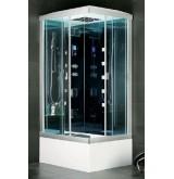 Гидромассажная кабина прямоугольная NAUTICO - 9818 Размер 110 х 85 х 225 см