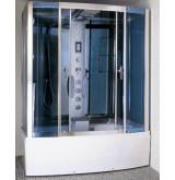 Гидромассажная кабина прямоугольная Nautico 421E  Размер:150*85*215 см