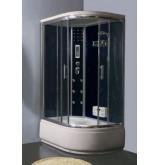 Гидромассажная кабина угловая NAUTICO SW-9120L Размер 120 х 80 х 220 см