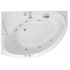 Акриловая ванна TIMO 1016 L  левая 1600х900х460 см